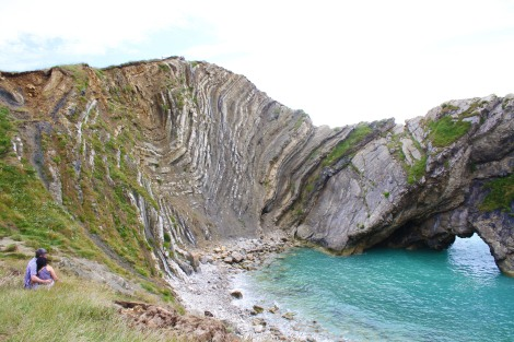 Couples at Lulworth Cove
